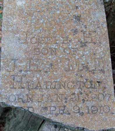 HEARINGTON, JOSEPH H - Lonoke County, Arkansas | JOSEPH H HEARINGTON - Arkansas Gravestone Photos