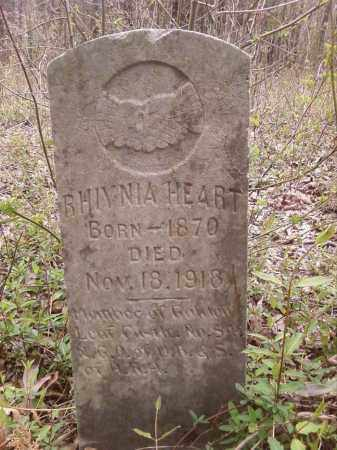 HEART, RHIYNIA - Lonoke County, Arkansas | RHIYNIA HEART - Arkansas Gravestone Photos
