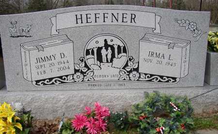 HEFFNER, JIMMY D. - Lonoke County, Arkansas | JIMMY D. HEFFNER - Arkansas Gravestone Photos