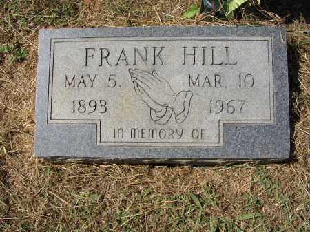HILL, FRANK - Lonoke County, Arkansas | FRANK HILL - Arkansas Gravestone Photos