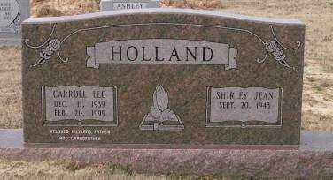 HOLLAND, CARROLL LEE - Lonoke County, Arkansas | CARROLL LEE HOLLAND - Arkansas Gravestone Photos