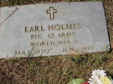 HOLMES (VETERAN WWII), EARL - Lonoke County, Arkansas | EARL HOLMES (VETERAN WWII) - Arkansas Gravestone Photos