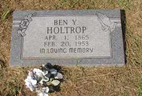 HOLTROP, BEN Y. - Lonoke County, Arkansas | BEN Y. HOLTROP - Arkansas Gravestone Photos