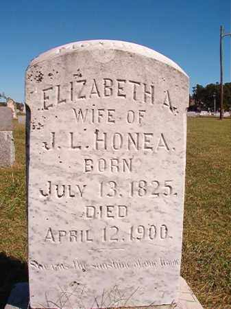 HONEA, ELIZABETH A - Lonoke County, Arkansas | ELIZABETH A HONEA - Arkansas Gravestone Photos