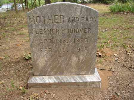 HOOVER, LEAMER F. - Lonoke County, Arkansas | LEAMER F. HOOVER - Arkansas Gravestone Photos