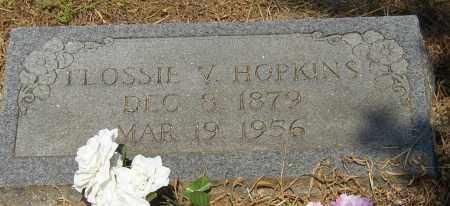 HOPKINS, FLOSSIE V. - Lonoke County, Arkansas | FLOSSIE V. HOPKINS - Arkansas Gravestone Photos