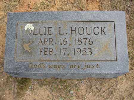 HOUCK, OLLIE L. - Lonoke County, Arkansas | OLLIE L. HOUCK - Arkansas Gravestone Photos