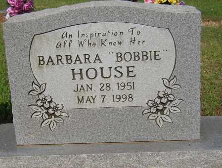 "HOUSE, BARBARA ""BOBBIE"" - Lonoke County, Arkansas | BARBARA ""BOBBIE"" HOUSE - Arkansas Gravestone Photos"