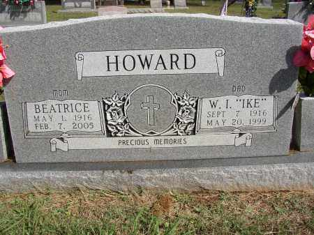 "HOWARD (VETERAN WWII), WILLIAM I ""IKE"" - Lonoke County, Arkansas 
