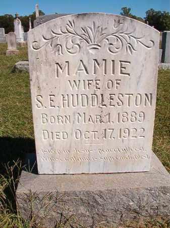 HUDDLESTON, MAMIE - Lonoke County, Arkansas | MAMIE HUDDLESTON - Arkansas Gravestone Photos