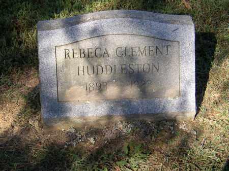 HUDDLESTON, REBECA CLEMENT - Lonoke County, Arkansas | REBECA CLEMENT HUDDLESTON - Arkansas Gravestone Photos