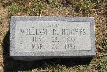 "HUGHES, WILLIAM ""BILL"" D. - Lonoke County, Arkansas | WILLIAM ""BILL"" D. HUGHES - Arkansas Gravestone Photos"
