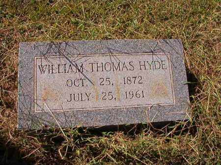 HYDE, WILLIAM THOMAS - Lonoke County, Arkansas | WILLIAM THOMAS HYDE - Arkansas Gravestone Photos