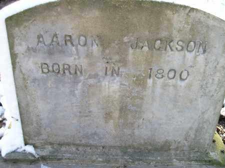 JACKSON, AARON - Lonoke County, Arkansas | AARON JACKSON - Arkansas Gravestone Photos
