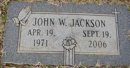 JACKSON, JOHN W. - Lonoke County, Arkansas | JOHN W. JACKSON - Arkansas Gravestone Photos