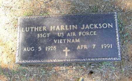 JACKSON (VETERAN VIET), LURTHER HARLIN - Lonoke County, Arkansas | LURTHER HARLIN JACKSON (VETERAN VIET) - Arkansas Gravestone Photos