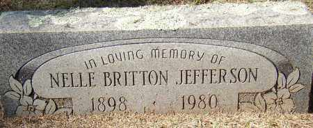 JEFFERSON, NELLE - Lonoke County, Arkansas | NELLE JEFFERSON - Arkansas Gravestone Photos