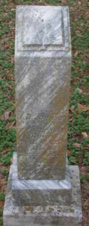 JOHNSON, J  D - Lonoke County, Arkansas | J  D JOHNSON - Arkansas Gravestone Photos