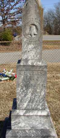 JONES, H. L. - Lonoke County, Arkansas | H. L. JONES - Arkansas Gravestone Photos