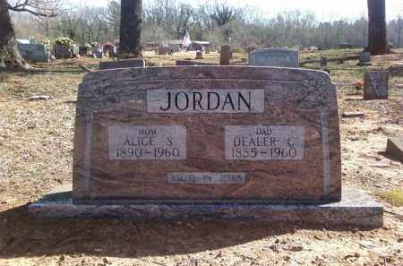 JORDAN, ALICE S - Lonoke County, Arkansas | ALICE S JORDAN - Arkansas Gravestone Photos