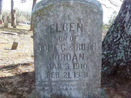 JORDAN, ELGEN - Lonoke County, Arkansas | ELGEN JORDAN - Arkansas Gravestone Photos