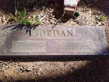 JORDAN, WOODVILLE GREEN - Lonoke County, Arkansas | WOODVILLE GREEN JORDAN - Arkansas Gravestone Photos