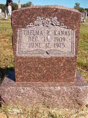 KANAS, THELMA R - Lonoke County, Arkansas | THELMA R KANAS - Arkansas Gravestone Photos