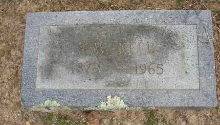 KELL, R. W. - Lonoke County, Arkansas | R. W. KELL - Arkansas Gravestone Photos