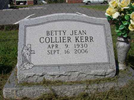 COLLIER KERR, BETTY JEAN - Lonoke County, Arkansas | BETTY JEAN COLLIER KERR - Arkansas Gravestone Photos