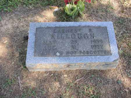 KILLOUGH, EARNEST B. - Lonoke County, Arkansas | EARNEST B. KILLOUGH - Arkansas Gravestone Photos