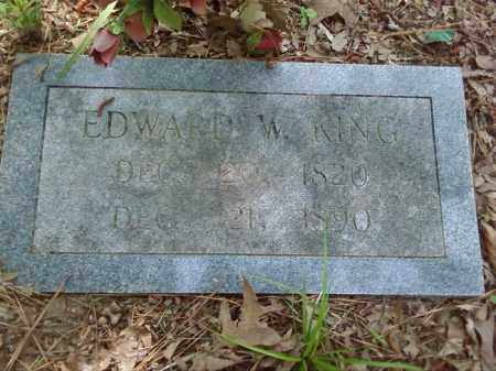 KING, EDWARD W. - Lonoke County, Arkansas | EDWARD W. KING - Arkansas Gravestone Photos