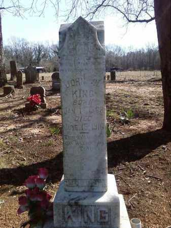 KING, JOHN W - Lonoke County, Arkansas | JOHN W KING - Arkansas Gravestone Photos