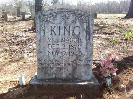 KING, MAGGIE - Lonoke County, Arkansas | MAGGIE KING - Arkansas Gravestone Photos