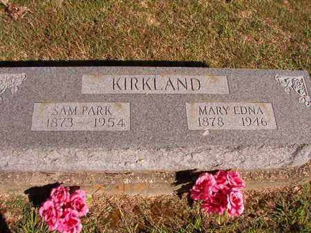 KIRKLAND, MARY EDNA - Lonoke County, Arkansas | MARY EDNA KIRKLAND - Arkansas Gravestone Photos