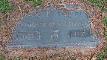 KNIGHT, JACK B. - Lonoke County, Arkansas | JACK B. KNIGHT - Arkansas Gravestone Photos