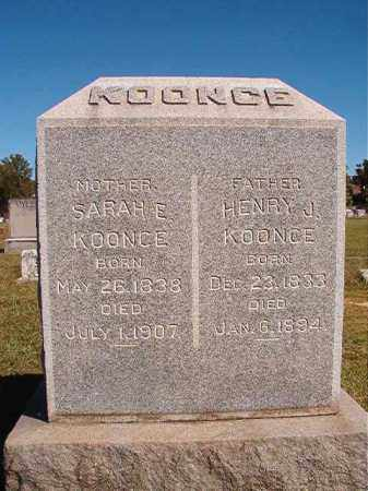 KOONCE, SARAH E - Lonoke County, Arkansas | SARAH E KOONCE - Arkansas Gravestone Photos