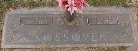 KOSSOVER, HARRY - Lonoke County, Arkansas | HARRY KOSSOVER - Arkansas Gravestone Photos
