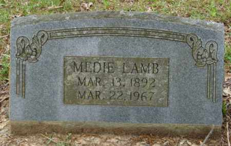 LAMB, MEDIE - Lonoke County, Arkansas | MEDIE LAMB - Arkansas Gravestone Photos