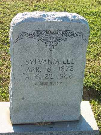 LEE, SYLVANIA - Lonoke County, Arkansas | SYLVANIA LEE - Arkansas Gravestone Photos