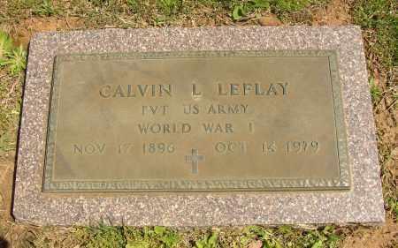 LEFLAY (VETERAN WWI), CALVIN L. - Lonoke County, Arkansas | CALVIN L. LEFLAY (VETERAN WWI) - Arkansas Gravestone Photos