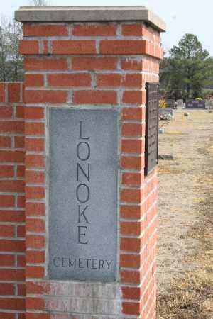 *LONOKE CEMETERY GATE,  - Lonoke County, Arkansas    *LONOKE CEMETERY GATE - Arkansas Gravestone Photos