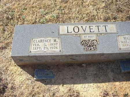LOVETT, CLARENCE M. - Lonoke County, Arkansas | CLARENCE M. LOVETT - Arkansas Gravestone Photos