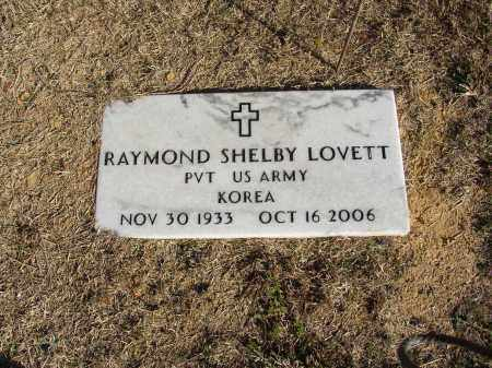 LOVETT (VETERAN KOR), RAYMOND SHELBY - Lonoke County, Arkansas | RAYMOND SHELBY LOVETT (VETERAN KOR) - Arkansas Gravestone Photos