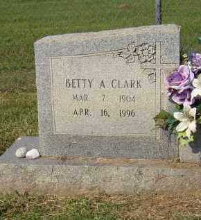 CLARK LUSTY, BETTY A. - Lonoke County, Arkansas | BETTY A. CLARK LUSTY - Arkansas Gravestone Photos