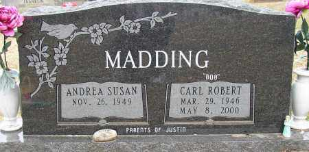 MADDING, CARL ROBERT (BOB) - Lonoke County, Arkansas | CARL ROBERT (BOB) MADDING - Arkansas Gravestone Photos