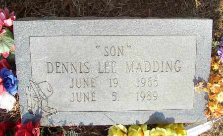 MADDING, DENNIS LEE - Lonoke County, Arkansas | DENNIS LEE MADDING - Arkansas Gravestone Photos
