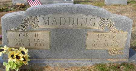 MADDING, LURA B. - Lonoke County, Arkansas | LURA B. MADDING - Arkansas Gravestone Photos