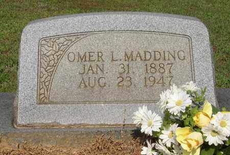 MADDING, OMER L. - Lonoke County, Arkansas | OMER L. MADDING - Arkansas Gravestone Photos