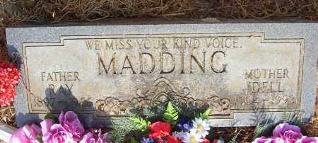 MADDING, RAY - Lonoke County, Arkansas | RAY MADDING - Arkansas Gravestone Photos