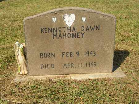 MAHONEY, KENNETHA DAWN - Lonoke County, Arkansas | KENNETHA DAWN MAHONEY - Arkansas Gravestone Photos